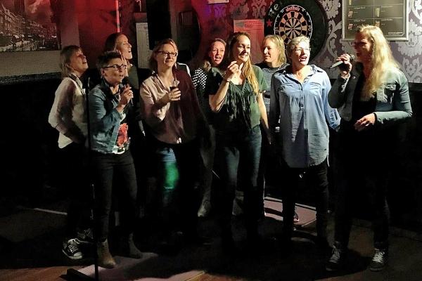 Karaoke op 5 april 2019